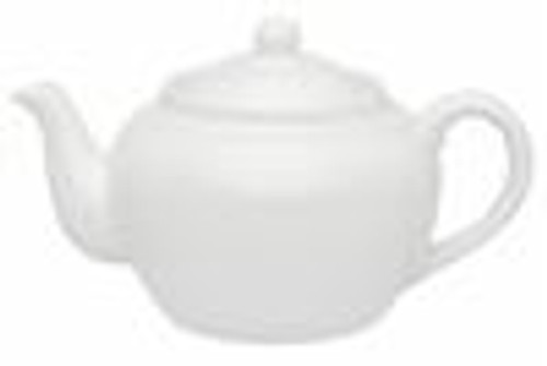 Teapot, 21 oz. White w/ Infuser