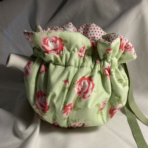 Tea Cosy, 6 Cup, Rose Mint (huggable)