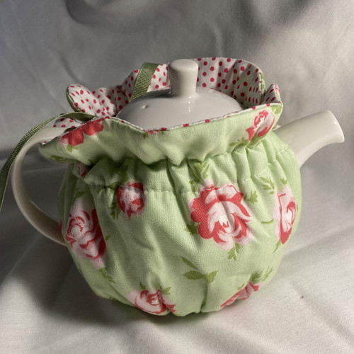 Tea Cosy, 2 Cup, Rose Mint (huggable)
