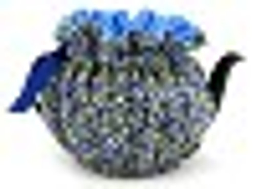 Tea Cosy, 6 Cup, Blueberies/Cream (huggable)
