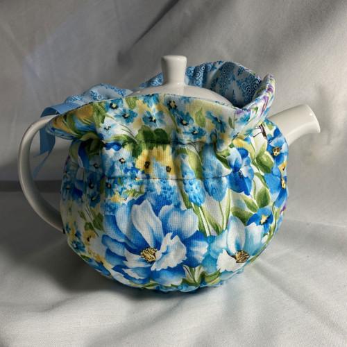 Tea Cosy, 4 Cup, Sapphire(huggable)