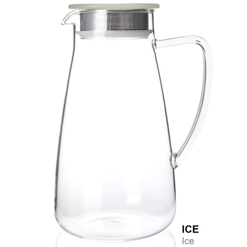 Flask, Glass 64 oz Ice