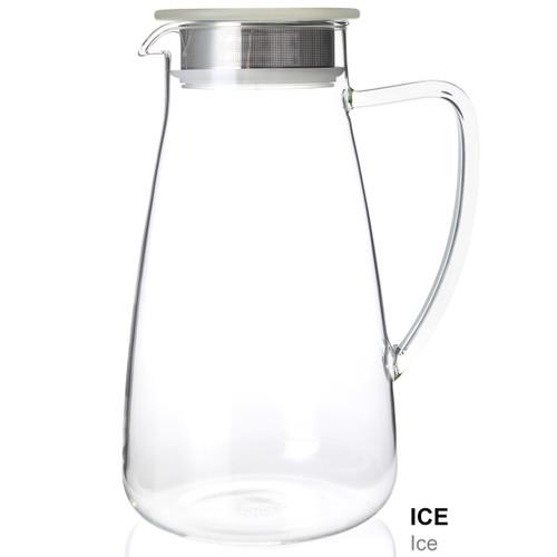 Flask, Glass 64 oz Ice