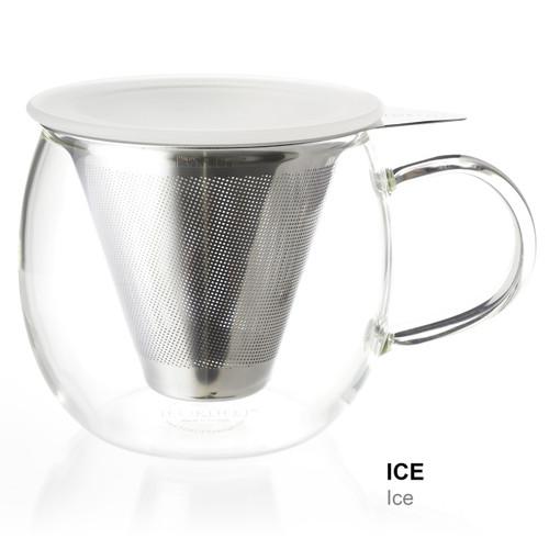 Mug, Glass Lucidity 12 oz. (Ice)
