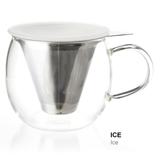 Mug, Glass Lucidity 12 oz. (Ice)