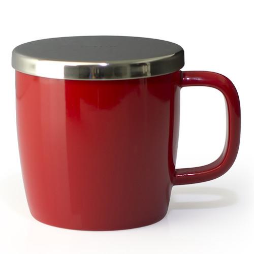Mug, Dew with infuser 11oz (Red)