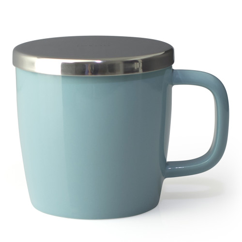 Mug, Dew with infuser 11oz (Turquoise)