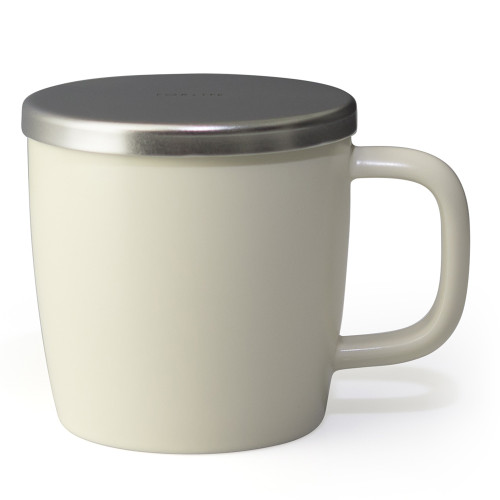 Mug, Dew with infuser 11oz (Natural Cotton)
