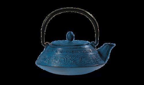 Cast Iron Teapot, 27.03 FL.OZ  Blue