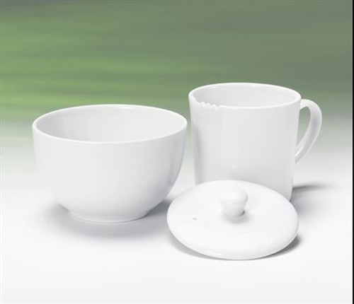 Tea Tasting Set, White 3 pc