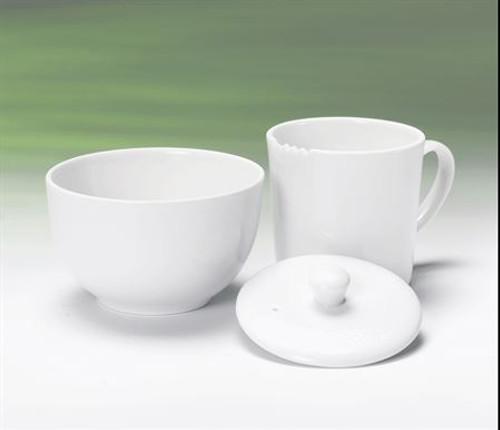 Tea Tasting Set, White 3 pc