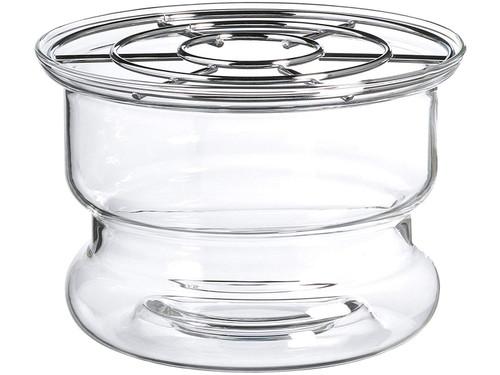Tea Warmer, Glass Ceylon