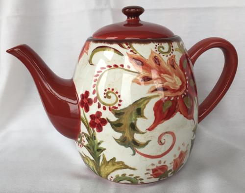 Teapot, Spice Flowers 40oz