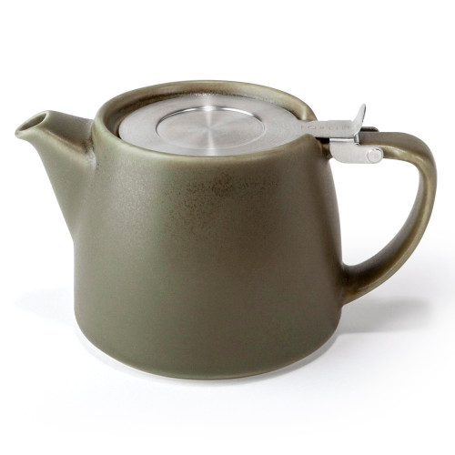 Teapot, Stump w/ Infuser 18oz (Olive)