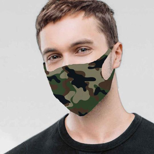 Mask, Adult Camo
