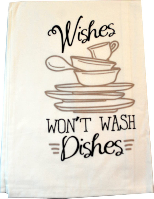 Towel, Wishes dishes