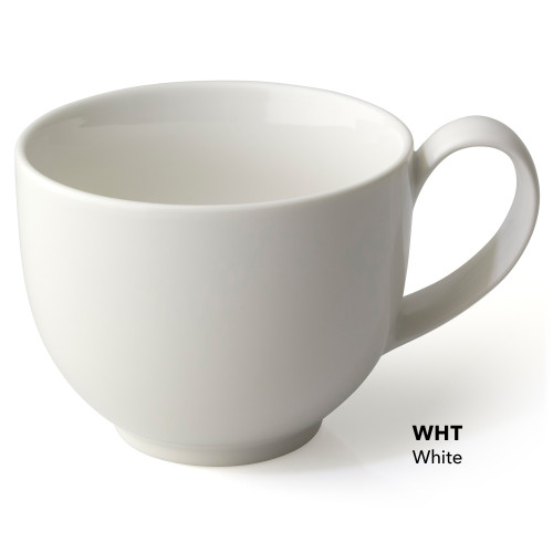 Cup, Tea Handle 10oz White