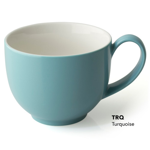 Cup, Tea Handle 10oz Turquiose