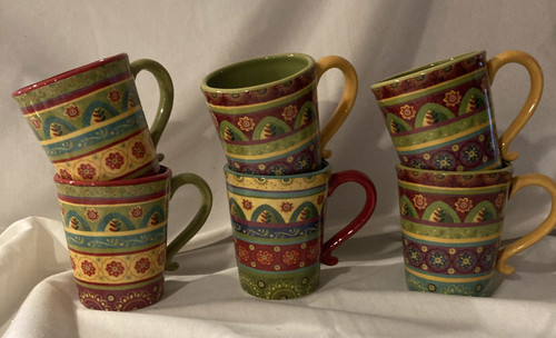 Mug, Tunisan Set of 6