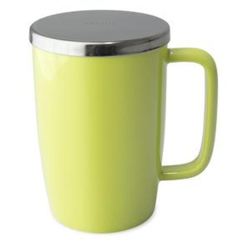Mug, Infuser Dew 18 oz. Lime Glossy