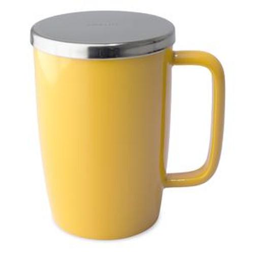 Mug, Infuser Dew 18 oz.  Mandarine Glossy