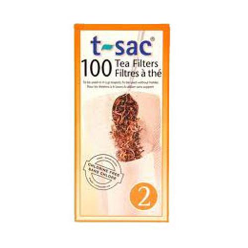 T-Sac tea filters #2 (4 cup)