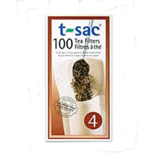 T-Sac tea filters #4 (12 cup)