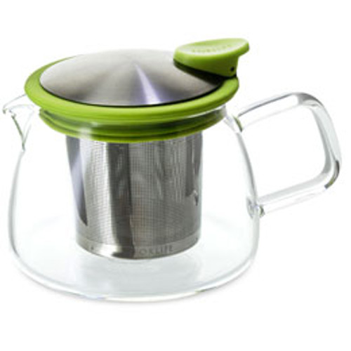 Teapot, Glass Bell 14oz (Lime)