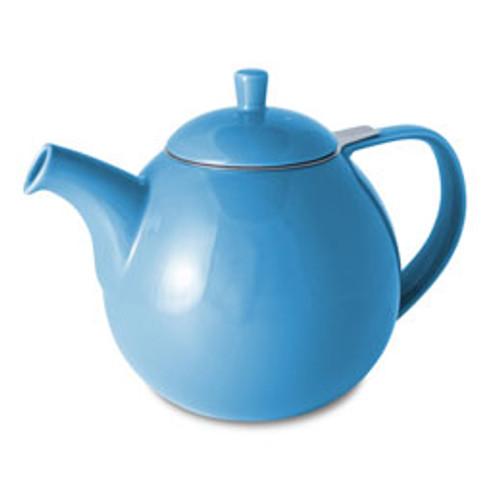 Teapot, Curve 45oz. (Blue)