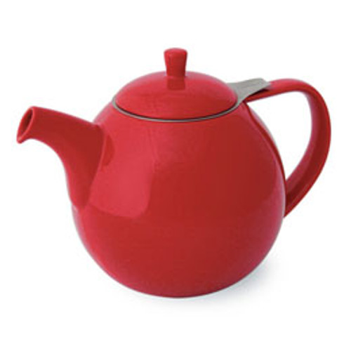 Teapot, Curve 24oz. (Red)