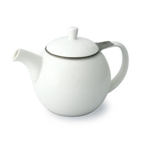 Teapot, Curve 24oz. (White)