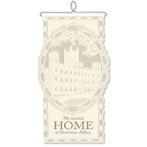 "Downton Abbey, Wall Hanging ""Second Home"""