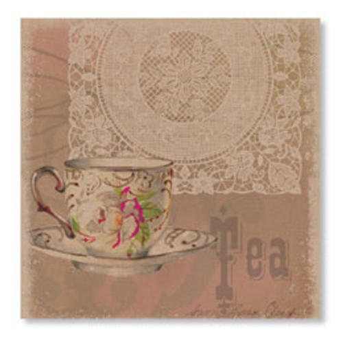 "Downton Abbey, Wall Art ""Downton Tea"""