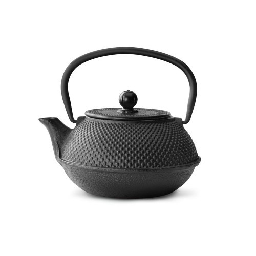 Cast Iron Teapot, 27 FL.OZ BLACK JANG