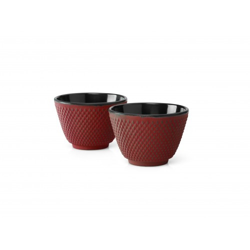 Tea Mugs, Cast Iron Red JANG