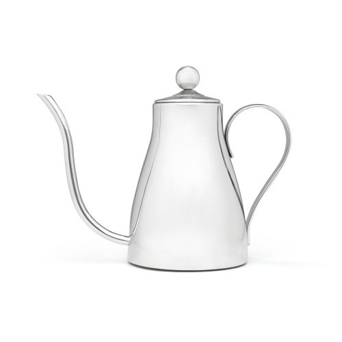 Tea Kettle, 1.3 QT. Gooseneck SS Polished