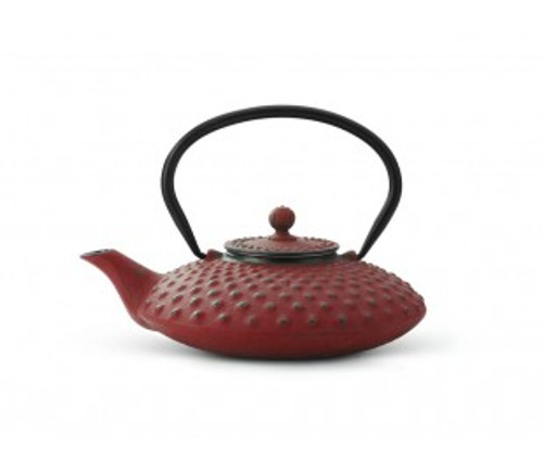 Cast Iron Teapot, 27 FL.OZ Red JANG