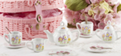 Childrens Tea Set, Smiley