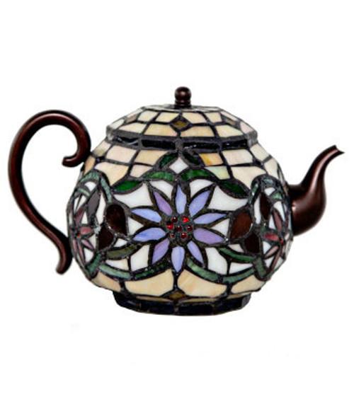 Lamp, Tiffany Teapot Accent