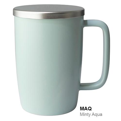 Mug, Infuser Dew 18 oz. Aqua