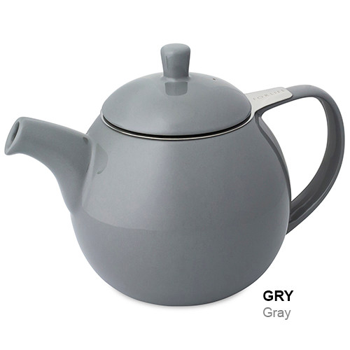 Teapot, Curve 24oz. (Grey)