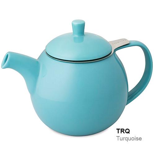 Teapot, Curve 24oz. (Turquoise)