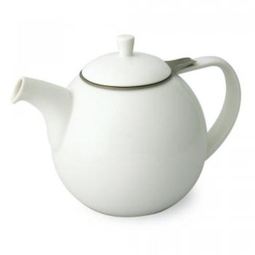 Teapot, Curve 45oz. (White)