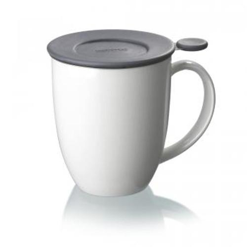Mug, Infuser Uni Brew (White)