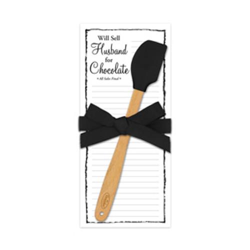 Spatula Pad, Sell Husband / Chocolate