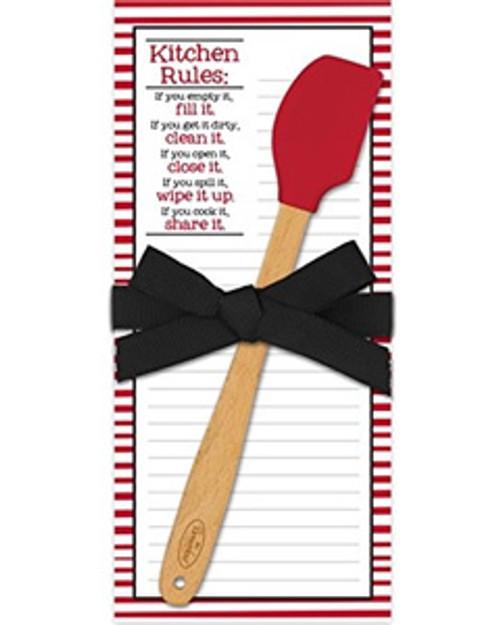 Spatula Pad, Kitchen Rules