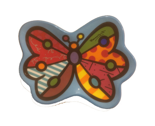 Tea Bag Holder, Romero Britto Butterfly