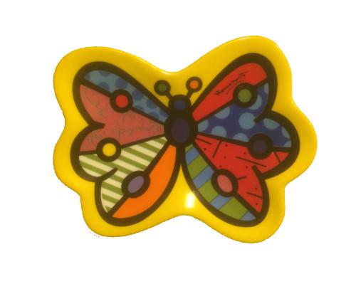 Tea Bag Holder, Romero Britto Butterfly