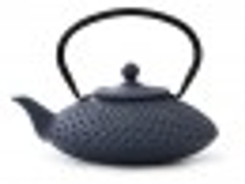 Teapot, CI  Blue 42 oz.