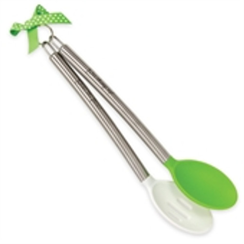 Spoon, Green & White